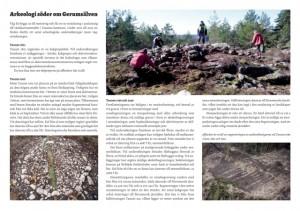 Arkeologi söder om gerumsälven