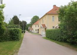 Bebyggelsemiljö på Prästängsvägen, Skoghall.