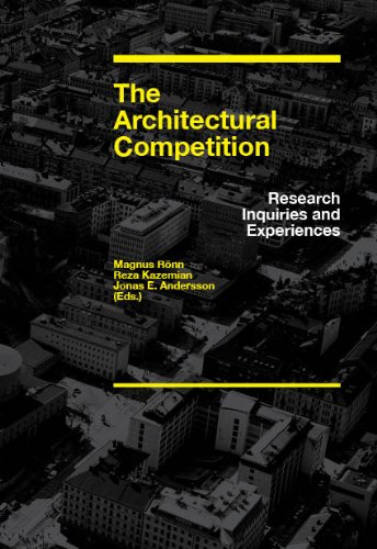 The Architectural Competition, Research Inquiries and Experiences cover
